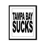 Tampa Bay Sucks Framed Panel Print
