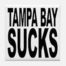 Tampa Bay Sucks Tile Coaster