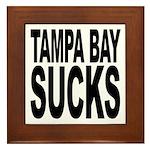 Tampa Bay Sucks Framed Tile