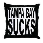 Tampa Bay Sucks Throw Pillow