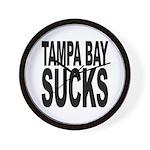Tampa Bay Sucks Wall Clock