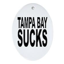 Tampa Bay Sucks Oval Ornament