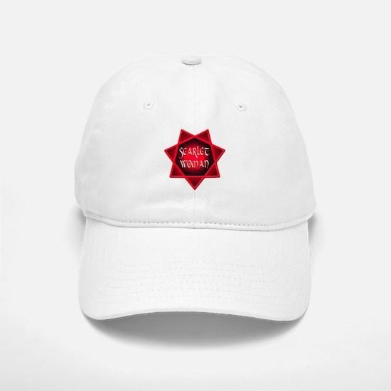 Scarlet Woman Baseball Baseball Cap