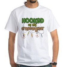 HOOKED ON MY GRANDDAUGHTER Shirt