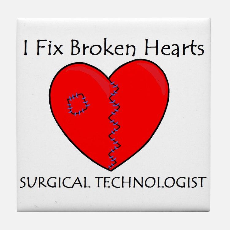 Heart Mender ST Tile Coaster