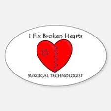 Heart Mender ST Oval Decal