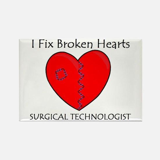 Heart Mender ST Rectangle Magnet