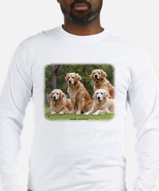 Golden Retriever 9Y180D-149 Long Sleeve T-Shirt