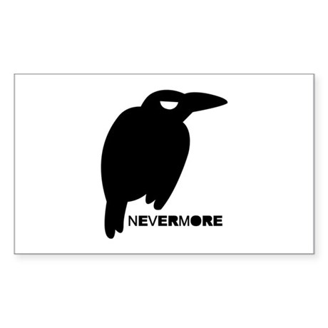 Nevermore Sticker (Rectangle)