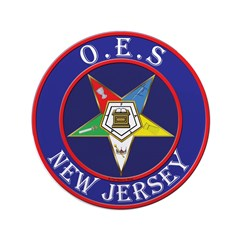 """Order of the Eastern Star of New Jersey 3.5"""" Butto"""