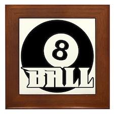 8 Ball Framed Tile