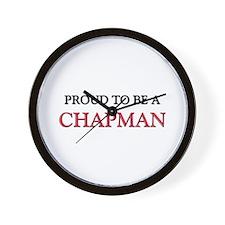 Proud to be a Chapman Wall Clock