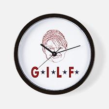 G.I.L.F. Wall Clock