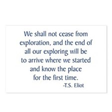 Eliot Postcards (Package of 8)