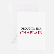 Proud to be a Chaplain Greeting Cards (Pk of 10)