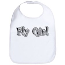 fly girl Bib