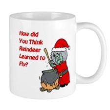 How Reindeer Fly Mug