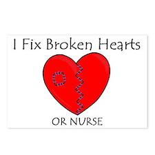 Heart Mender RN Postcards (Package of 8)