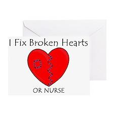 Heart Mender RN Greeting Card