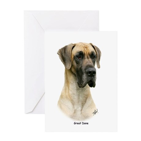 Great Dane 9Y052D-035 Greeting Card