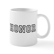 Man of Honor Small Mugs