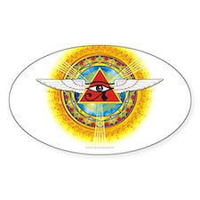Eye_of_Horus Oval Decal