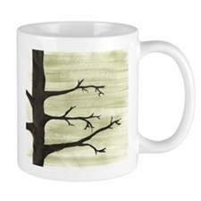 Mug WINTER TREE SILLOUETTE