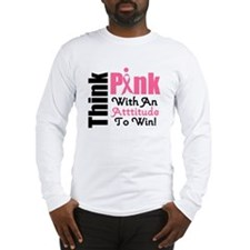 Think Pink Aunt Long Sleeve T-Shirt