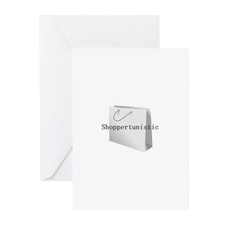 Shoppertunistic Greeting Cards (Pk of 10)