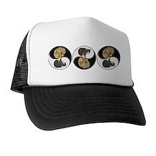 Tabby & Shar Pei Yin Yang Trucker Hat