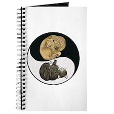 Tabby & Shar Pei Yin Yang Journal