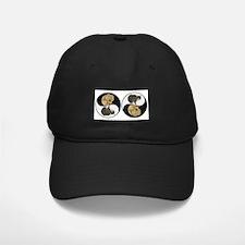 Tabby & Shar Pei Yin Yang Baseball Hat
