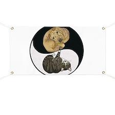 Tabby & Shar Pei Yin Yang Banner