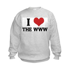 I Love the WWW Sweatshirt