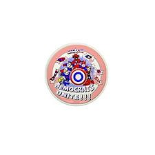 Democrats Unite Mini Button (10 pack)