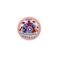Democrats Unite Mini Button