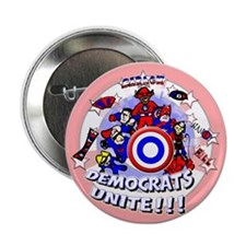 "Democrats Unite 2.25"" Button"
