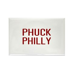 Phuck Philly 2 Rectangle Magnet (10 pack)
