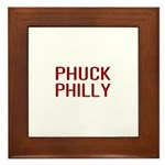 Phuck Philly 2 Framed Tile