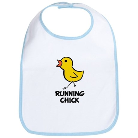 Running Chick Bib