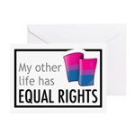 My Other Life Bi Greeting Cards (Pk of 10)
