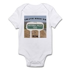 Victoria Falls Sign Post Infant Bodysuit