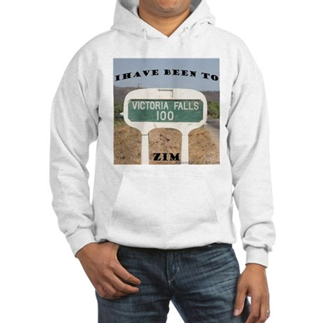 Victoria Falls Sign Post Hooded Sweatshirt