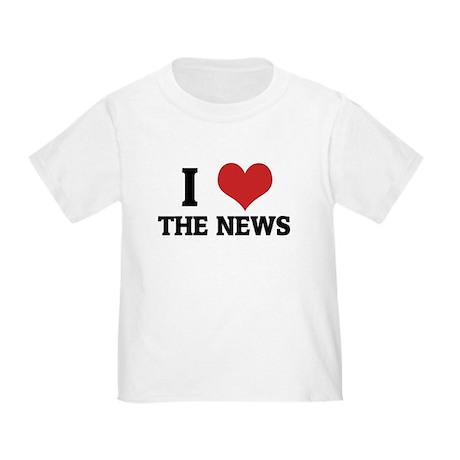 I Love the News Toddler T-Shirt
