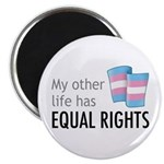 """My Other Life Trans 2.25"""" Magnet (10 pack)"""