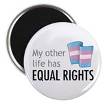 """My Other Life Trans 2.25"""" Magnet (100 pack)"""