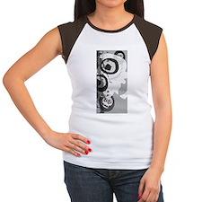 Urban Grunge Skulls Women's Cap Sleeve T-Shirt