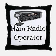 Ham Radio Operator Throw Pillow