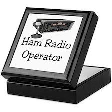 Ham Radio Operator Keepsake Box
