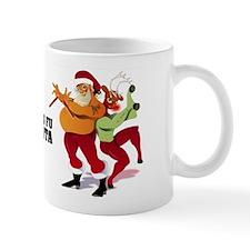 Kung Fu Santa Mug